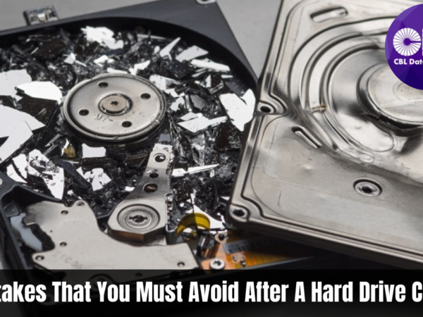 Common Mistakes That You Must Avoid After A Hard Drive Crash!